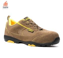 Pantofi de protectie S1P HRO din piele nubuk, vara Ascanite