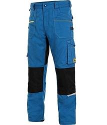 Pantaloni moderni de lucru Stretch albastru deschis