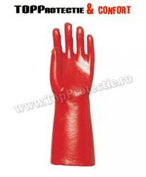 Manusi imersate in PVC ,rezistente la umiditate 40cm