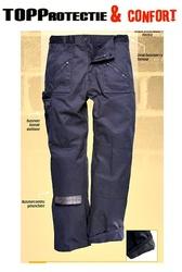 Pantaloni talie, confortabili si rezistenti cu captuseala termica interioara prelucrata