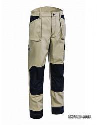 Pantaloni talie lucru SAND de vara rezistenti la rupere