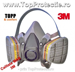 Protejati sanatatea cu Masca 3M 6200 marime medie