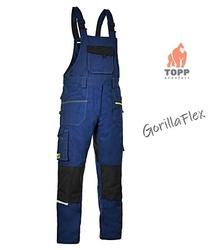 Salopete lucru service constructii industrie MaxiFlex Albastru