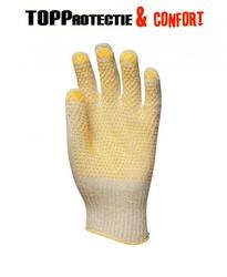 Manusi protectie din fir Abralon® subțire, rezistente la uzură şi tăiere,cu picouri antiderapante