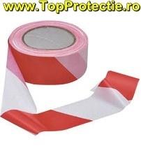 Benzi delimitare marcare rosu alb 5 cm X 100 m 70010