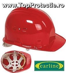 Casca de Protectie de calitate Opus Rosu