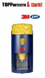 Dispenser One Touch: plastic rezistent, se poate monta pe perete sau cu suport vertical,3M