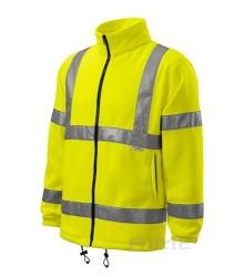 Fleece galben benzi reflectorizante 3M