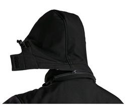 Jacheta de toamna iarna softshell outdoor neagra