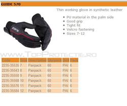 Manusi protectie piele fina mechanic GUIDE 570