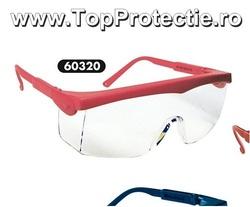 Ochelari de protectie flexibili cu lentila incolor Pivolux