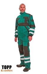 Pantaloni salopeta de lucru amenajari spatii verzi Max Reflex verde