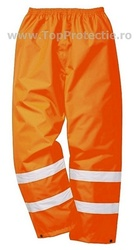 Pantaloni salopeta impermeabili Orange fluo