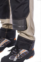Pantaloni talie lucru SAND de vara cu intarituri
