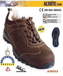 Pantofi de protectie piele fina de calitate Altaite S3 Compozit