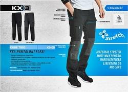 Tehnologie si design avansat in materie de pantaloni de lucru