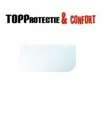 Vizor de schimb policarbonat transparent 20x40 cm