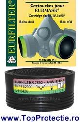 Filtru pentru semimasca SupAir ABEK1 22150 Euromask- Vapori - Gaz