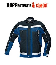 Jacheta de lucru Stanmore Bleumarin din bumbac