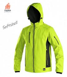 Jacheta softshell fluorescenta reflectorizanta oferta