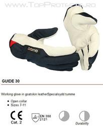 Manusi protectie piele capra GUIDE 30