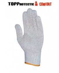 Manusi tricotate cu fir textil dublu,manseta elastica