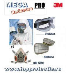 Masca de protectie 3M pentru praf, gaze si solutii chimice stropit pomi