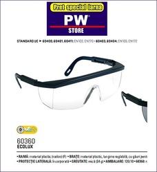 Ochelari protectie Ecolux UV400 performanti incolor si fum
