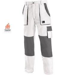Pantalon lucru Albi bumbac 100%