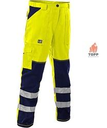 Pantaloni dungi eflectorizante 3M din tercot EN 340, EN 471