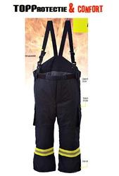 Pantaloni pompieri cu rezistenta termica exceptionala model 4000