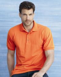 Tricou polo cu guler gildan portocaliu Promo primavara
