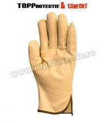 Mănuși de protecție de bună calitate,din piele integrala de porc,recomandate pentru lucru fin
