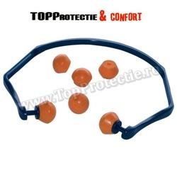 Antifoane interne cu cordeluţă, reutilizabile, cordeluţă flexibilă din acetat,3M