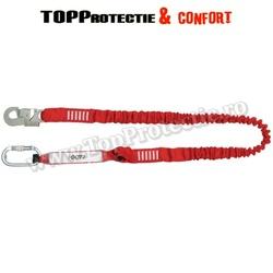 Disipator de energie, cu chingă elastică ataşată