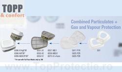 Filtru protectie Set Vapori+Particule A1P2 3M (6051+5925+501)