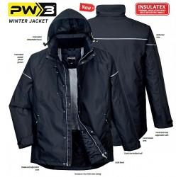 Geacă de iarnă ploaie, vânt, frig PW3