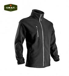 Jacheta de iarna neagra Angara, Polar foarte gros si Rezistent