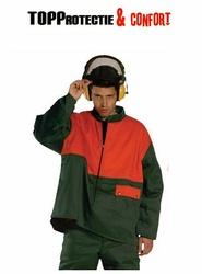Jacheta de lucru antitaiere Forestier verde/portocaliu