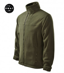 Jacheta fleece verde Military