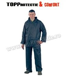 Jacheta + pantaloni rezistenti la apa si vant, verde, galben si albastru