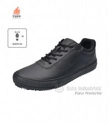 Pantofi antialunecare ESD microfibra Negri Horeca fara protectie BATA