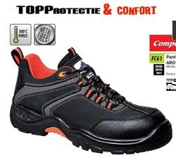 Pantofi protectie S3 compozit, rezistenti la apa