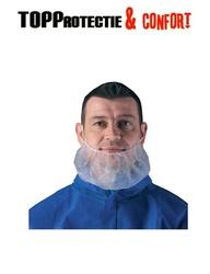 Protector barbă din polipropilena cu banda elastica - pret/pachet 100buc