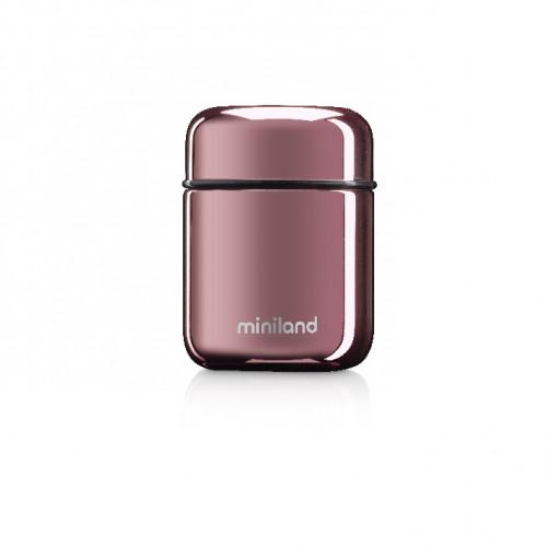 Poze Termos Mancare Solida Deluxe 280 ml Rose Miniland