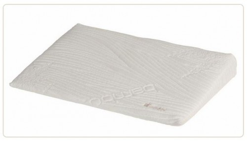 Perna plan inclinat 15 grade Bamboo Soft 60x 120 cm pentru patut copii