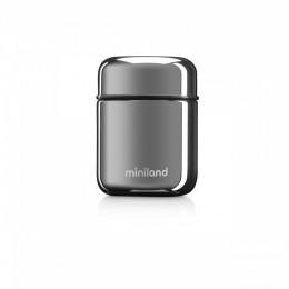 Termos Mancare Solida Deluxe 280 ml Silver Miniland