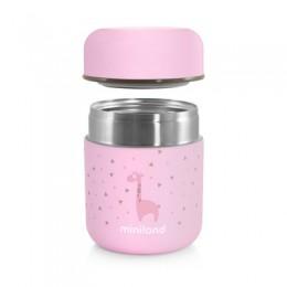 Termos Mancare Solida Silky Mini 280 ml Rose Miniland