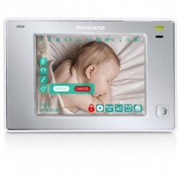 "Interfon video monitorizare copii 3.5"" Touch Miniland"