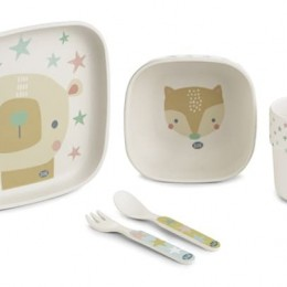 Set harnire 5 piese din bamboo by Jane